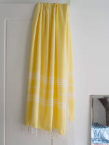 hammam towel yellow