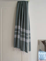 hammam towel pine green