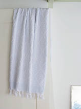 towel light blue