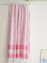 towel ruby red