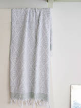 towel grey-green