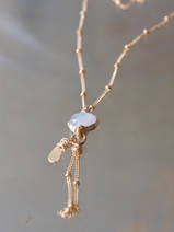 necklace Eye small moonstone