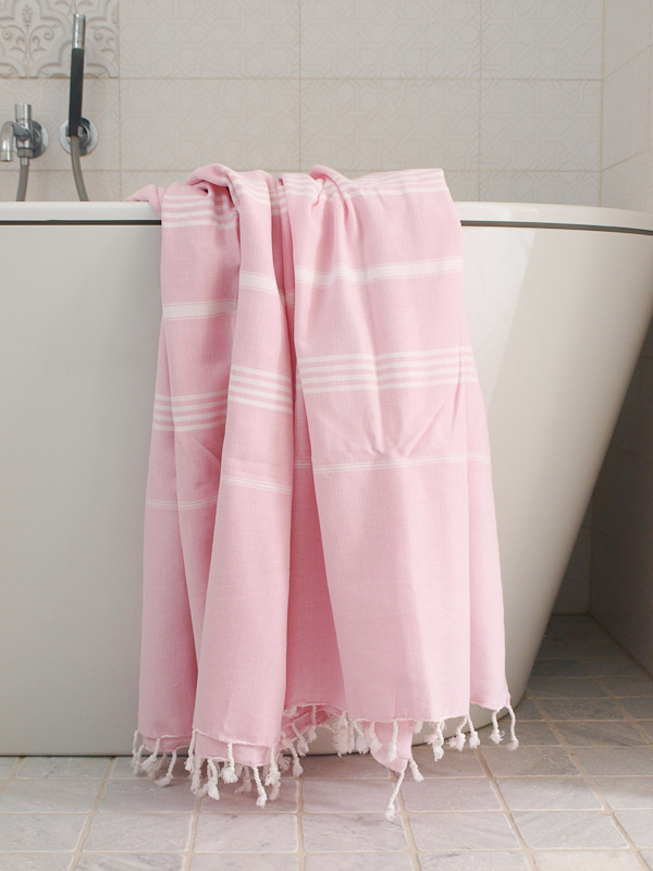 Hammam Towel Pink White Hamam Towel Xl Extra Large