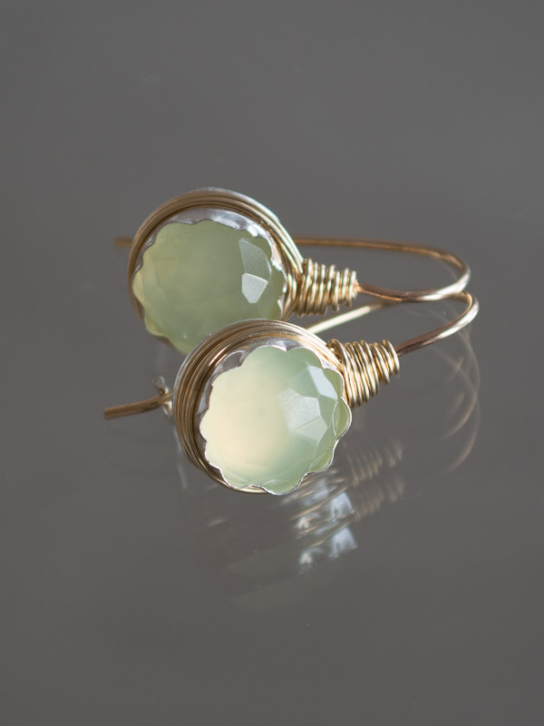 earrings Wire jade