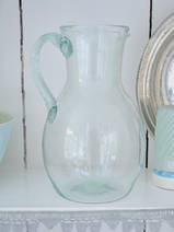 carafe with ribbed handle, 22 cm